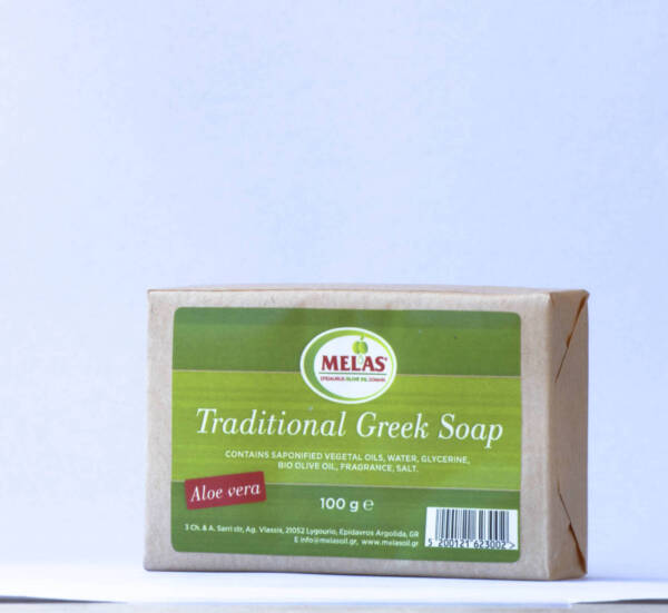 traditional soap with extra virgin olive oil Melas